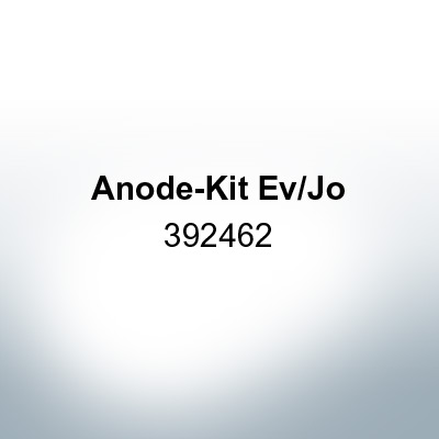 Anodes compatible to Mercury | Anode-Kit Ev/Jo 392462 (AlZn5In) | 9531AL