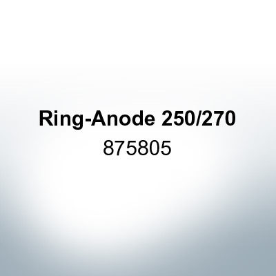Anodes compatible to Volvo Penta | Ring-Anode 250/270 875805 (Zinc) | 9206