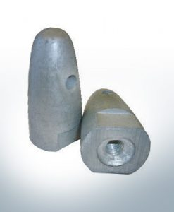 "Anodes compatible to Volvo Penta | Cap-Anode 7/16"" 833911 (AlZn5In) 