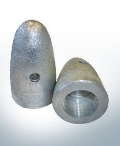 "Anodes compatible to Volvo Penta | Cap-Anode 1"" 828140 (AlZn5In) 