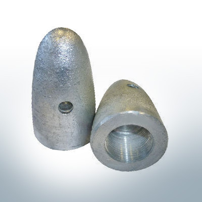 Anodes compatible to Volvo Penta | Cap-Anode M18x1,5 (Zinc) | 9229