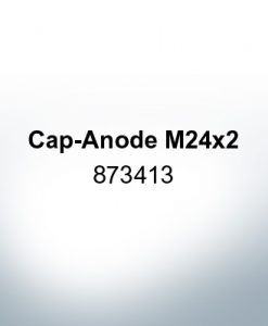 Anodes compatible to Volvo Penta | Cap-Anode M24x2 873413 (Zinc) | 9219