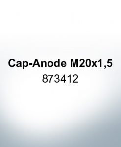 Anodes compatible to Volvo Penta | Cap-Anode M20x1,5 873412 (Zinc) | 9220