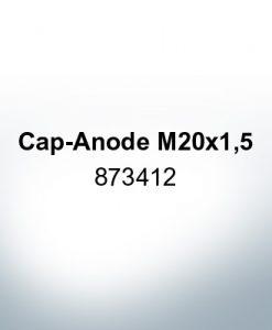 Anodes compatible to Volvo Penta | Cap-Anode M20x1,5 873412 (Zinc) | 9220