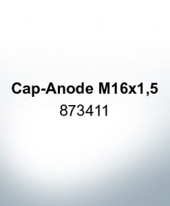 Anodes compatible to Volvo Penta | Cap-Anode M16x1,5 873411 (AlZn5In) | 9221AL