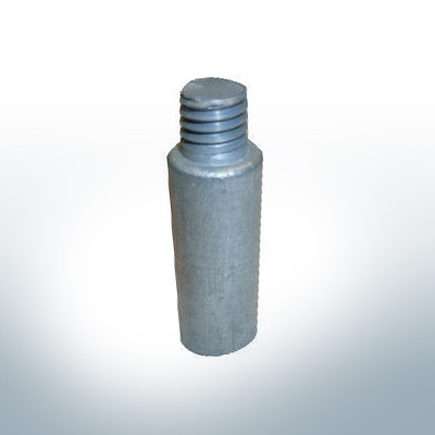 "Anodes compatible to Volvo Penta | Bolt-Anode 7/16"" 25mm 804107 (Zinc) 