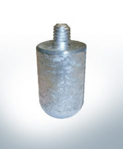 "Anodes compatible to Volvo Penta | Bolt-Anode 3/8"" 16G30mm 823662 (Zinc) 
