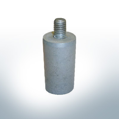 Anodes compatible to Volvo Penta | Bolt-Anode 22x40 M8 (Zinc) | 9231