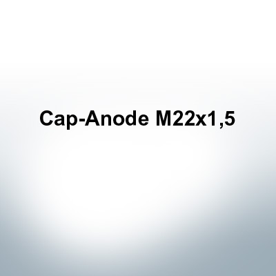 Anodes compatible to Volvo Penta | Cap-Anode M22x1,5 (AlZn5In) | 9233AL