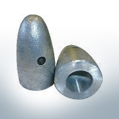 Anodes compatible to Volvo Penta | Cap-Anode M27x1,5 (AlZn5In) | 9234AL