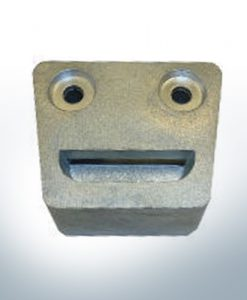Anodes compatible to Volvo Penta | Engine-Anode SX-C DP-S 3854130 (AlZn5In) | 9237AL