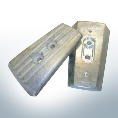 Anodes compatible to Volvo Penta   Engine-Anode   3588746   3888813A 14Z (AlZn5In)   9238AL