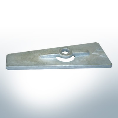 Anodes compatible to Yamaha and Yanmar | Anode 9,5 15 PS 623-45251-00 (Zinc) | 9535