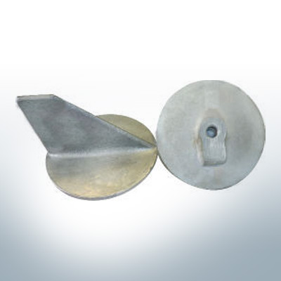 Anodes compatible to Yamaha and Yanmar | Trim-Tab-Anode >40PS M10x1,25 679-45371-00 (Zinc) | 9537