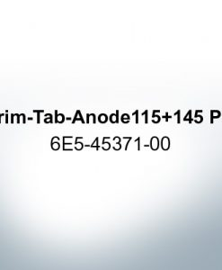 Anodes compatible to Yamaha and Yanmar | Trim-Tab-Anode 115 145 PS 6E5-45371-00 (Zinc) | 9539