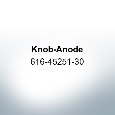 Anodes compatible to Yamaha and Yanmar | Knob-Anode 616-45251-30 (AlZn5In) | 9540AL