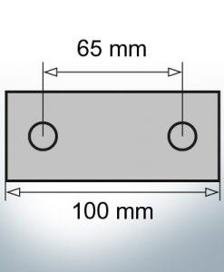 Block- and Ribbon-Anodes Block L100/65 (AlZn5In)   9347AL