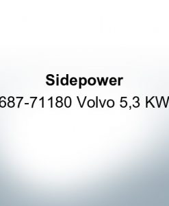 Sidepower 687-71180 Volvo 5,3 KW (AlZn5In) | 9622AL