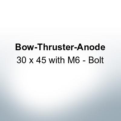 30 x 45 with M6 - Bolt (Zinc) | 9650