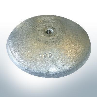 Disk-Anodes Ø 100mm | M10 (Zinc) | 9800