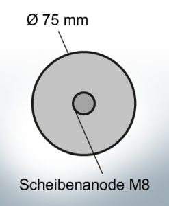 Disk-Anodes Ø 75mm | Bundle (Zinc) | 9805 9806