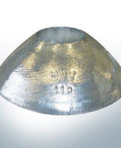 Cylinder-Anodes 110x40 Ø110 mm (AlZn5In) | 9809AL