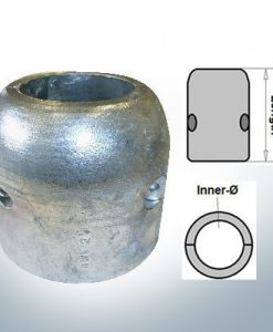 Shaft-Anodes with imperial inner diameter 2'' (Zinc) | 9020