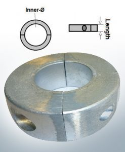 Shaft-Anode-Rings with metric inner diameter 30 mm (Zinc) | 9033