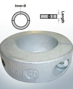 Shaft-Anode-Rings with metric inner diameter 40 mm (AlZn5In) | 9035AL
