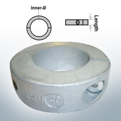 Shaft-Anode-Rings with metric inner diameter 40 mm (AlZn5In)   9035AL