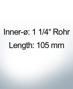 Conical Shaftend-Anode 1 1/4'' Rohr (AlZn5In) | 9447AL