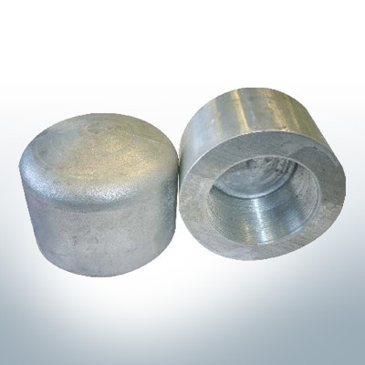 Conical Shaftend-Anode (M27) (Zinc) | 9445