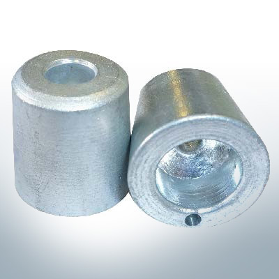 Shaftend-Anodes with carrier punch 20 mm (Zinc) | 9635
