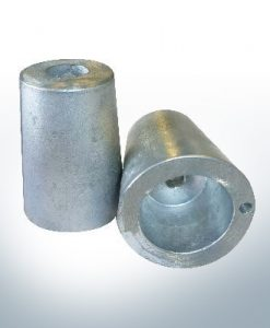 Shaftend-Anodes with carrier punch 25 mm (Zinc) | 9636